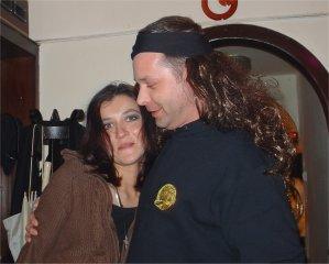 Ein Wehringhauser Althippie auf der Suche nach einem Partyluder ( Peter O. und Yvi)