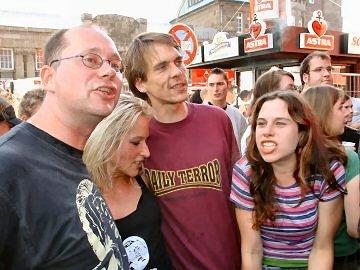 Klaus, Moni und zwei weitere Textsichere Breitlinge