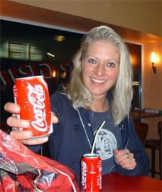 Moni auf Coke