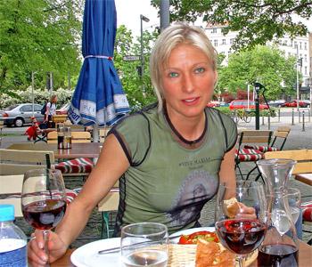 Wein Weib und später am Abend auch Gesang