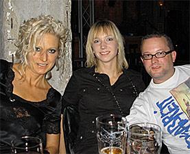 Moni mit Nadine und Rolf