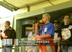 Polizisten Karaoke mit Radio Hagen