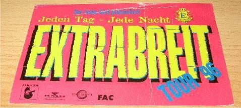 Der liebe Gott präsentiert - Zeche 1996